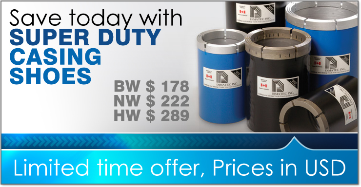 Drilling Products Supply - Save today with Super Duty Casing Shoes